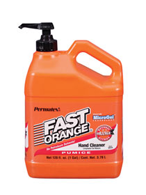 PERMATEX-#25219 FAST ORANGE PUMICE LOTION HAND CLEANER